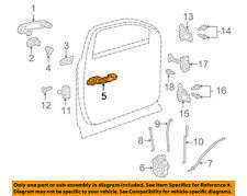 GM OEM Front Door-Handle Base Left 20910590