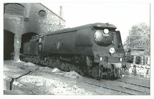 Battle of Britain Class 34057 Tangmere Loco at Yeovil, PC size Repro Photo