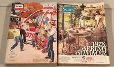2 Vtg Sears Catalogs – 1978 Spring Summer 1979 Fall Winter, Retro, Funky Clothes