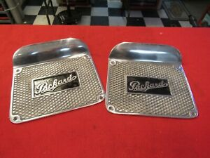 Early Packard running board step plates