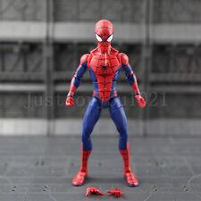 Marvel Legends Spider Man Action Figure Baf 6 Loose Spiderman Custom Homecoming*