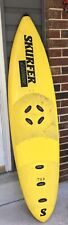 Vintage Yellow 1980s Skurfer Launch Wakeboard /Surfboard