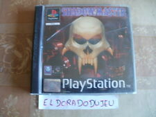 ELDORADODUJEU >>> SHADOW MASTER Pour PLAYSTATION PSX VF COMPLET
