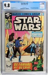 D346 Star Wars #43 Marvel CGC 9.8 NM/MT (1981) 1st Comic App. Lando Calrissian