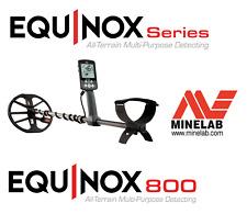 New Detector!! Minelab Equinox 800 Metal Detector; Free Shipping!