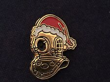 Siebe Gorman Diving Helmet Pin Badge Christmas