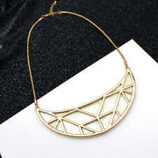 """16"""" New Forever21 Shell Moon Collar Necklace Gift Fashion Women Party Jewelry FS"""