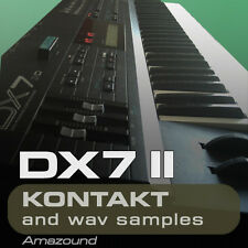 YAMAHA DX7 II SAMPLES for KONTAKT 96 nki 1040 24bit WAV LOGIC PRO X MAC PC MPC
