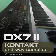 DX7 II for KONTAKT 96 .nki INSTRUMENTS 1040 24bit WAV SAMPLES PC MAC MPC