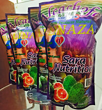 4 Pieza Pack New Alcachofa Linaza Flax Seed Sara Nutrition Colon Cleanse 14oz