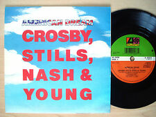 "CSN&Y American Dream A1 B1 UK 7"" Neil Young Atlantic A9003 1988 NM/NM"
