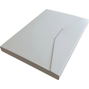 Strong High Quality Large Letter Mailing/Post Box White A4C4 (331 X 220 X 23mm)