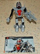 Lego Hero Factory 7168 Dunkan Bulk Figure - Complete & with Instruction Booklet