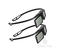 [Sintron] 2X 3D Aktive Brille für DLP-Link Optoma 3D Glasses EH515 GT760 HD141X