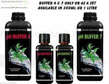 Growth Technology pH Buffer 4 & 7 Calibration Fluid Meter Solution Hydroponics