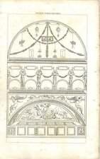 1840 Ancient Roman Ornament 4