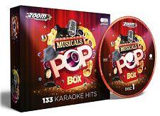 Zoom Pop Box Musicals Karaoke CDG - 133 Tracks - FREE P&P