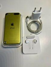Apple iPod Touch 5. Generation, 32GB, gelb/grün, in OVP Top-Zustand