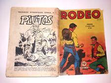 bd RODEO N° 83 LUG 5-7-1958 miki le ranger TEX complet