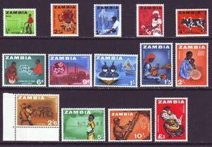 Zambia 1965 SC 22-25 MNH Set