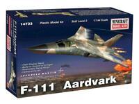 F-111 AARDVARK (USAFMARKINGS) #14733 1/144 MINICRAFT