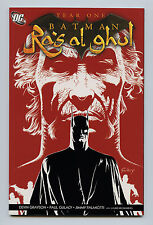 YEAR ONE BATMAN RA'S AL GHUL #1 AND #2 COMPLETE FIRST PRINTINGS 2006 NM- 9.2