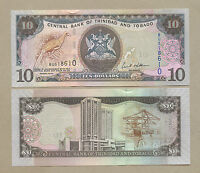 TRINIDAD & TOBAGO  $10  2006  P48  Uncirculated  Banknotes