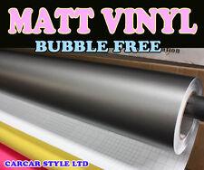 Matt【Grey 20 Meter x 1.52 Meter Air/Bubble Free 】Vehicle Wrap Vinyl  FULL CAR