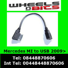 Mercedes A, B, C, E, Clase 2009 En Adelante USB para interfaz de medios de cable de plomo Adaptador