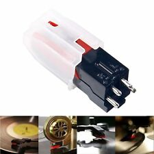 Turntable Phono Ceramic Cartridge W/ Stylus Needle For LP Vinyl Record Player