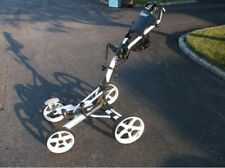 Clicgear 8.0 Golf Push Pull Cart White