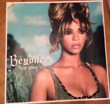 Beyoncé B Day Ultra Rare 2006 Promo 36X36 Poster Beyoncé