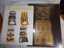 Anna Griffin haunted house easel die w/magnet sheet NEW