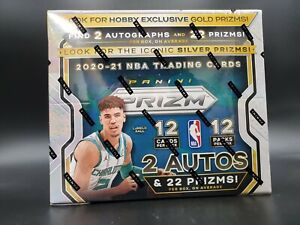 2020-21 Panini Prizm Basketball Hobby Box Random Player Break #1