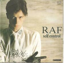 "45 TOURS / 7"" SINGLE--RAF--SELF CONTROL / PART II--1984"