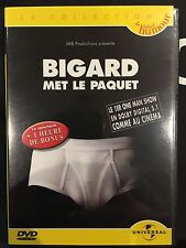 DVD - Comme neuf - BIGARD MET LE PAQUET -Zone 2 -
