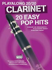 Play Along 20 20 Clarinet 20 Easy Pop Hits Book Audio Online NEW 014043734