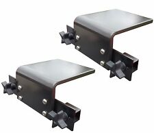 2X - Downrigger Bracket Tracker Boat Versatrack gunnel Accessory Holder - 2pack