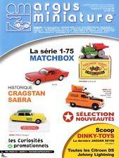 Argus de la Miniature Spécial Matchbox série 1-75 Vol.1