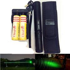 10 Milles Vert Militaire 1mw 532nm Pointeur Laser Pen Brûleur Léger + Batterie