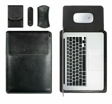 Leather Case For Macbook Air 13 11 Pro 13 15 Case  Notebook Bag For Macbook