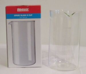 Meilor 8 Cup Borosilicate Replacement Glass (Made In Germany) Brand New