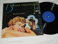 13 VALSES VIENNOISES Mathe Altery LP Pathe Mono PAM 67.013 Mathé Altéry Pathé VG