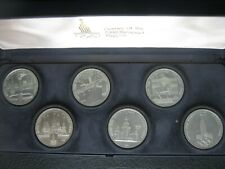 Russia 1977~1980 Commemorative 6x Coin Collection Set ~ Moscow '80 Olympic Games