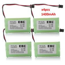 4x 1400mAh Cordless Phone Battery For Uniden BT-1007 BT1015 BP-904 DECT 6.0
