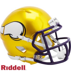 Minnesota Vikings FLASH Alternate Helmet Riddell Replica Mini Speed Style