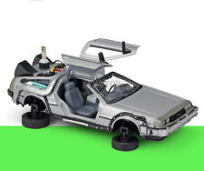 Welly 1/24 1:24 Back to future Ⅱ Time machine Fly Delorean Diecast Car model
