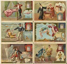 Chromo Liebig Sang. 409 ITA La Magia Volgarizzata ANNO 1894