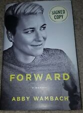 ABBY WAMBACH autographed/signed FORWARD book USA WOMEN'S SOCCER