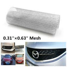 """Silver Rhombus Aluminium Car Racing Mesh Vent Tuning Grille Net 0.31""""×0.63"""" Mesh"""
